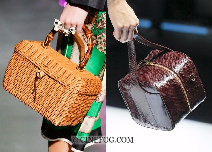 Handbags Fall-Winter 2017-2018 Fashion Trends:  box bags
