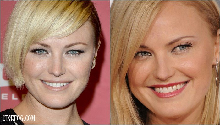 Malin Akerman makeup for hooded eyes