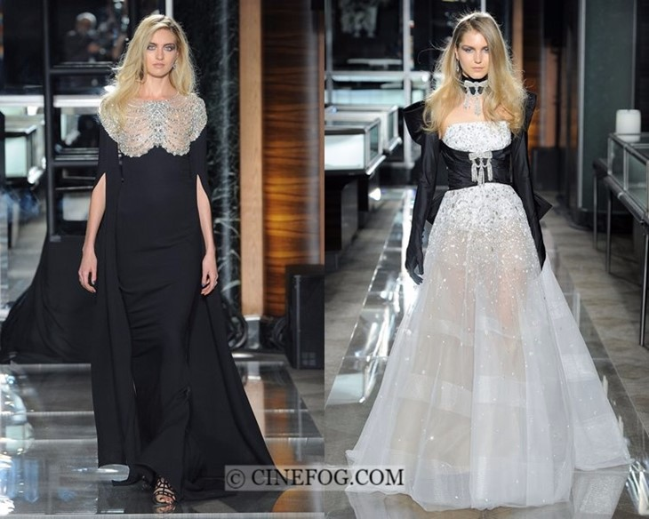 Wedding Dresses Spring-Summer 2018 Fashion Trends: Black dramatic look