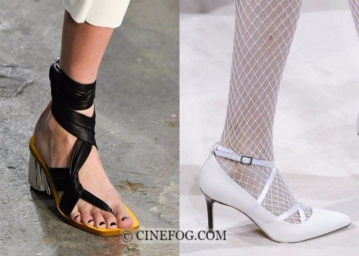 Shoes Fall-Winter 2017-2018 Fashion Trends: bondage shoes