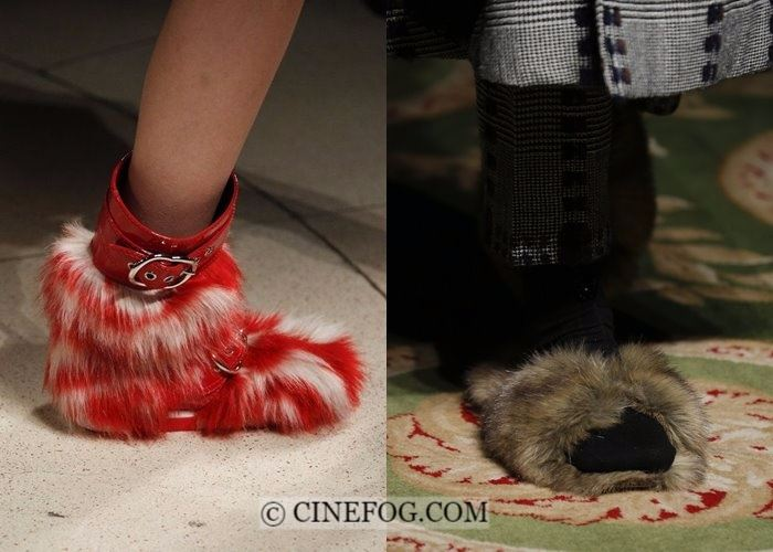 Shoes Fall-Winter 2017-2018 Fashion Trends: faux fur footwear