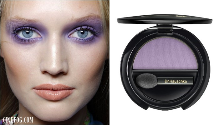 Eyeshadow Colors For Blue Eyes: lilac and lavender