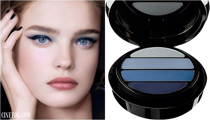 Eyeshadow Colors For Blue Eyes: blue shades