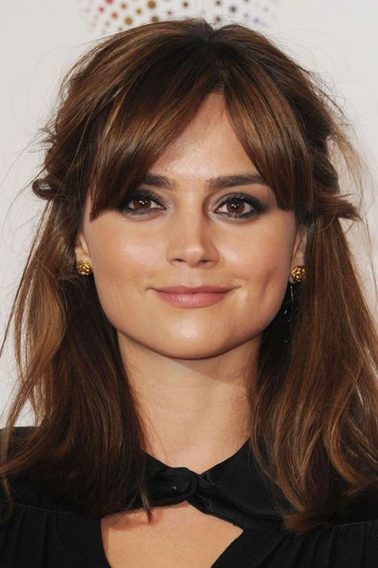 29+ Jenna Coleman Hair Background