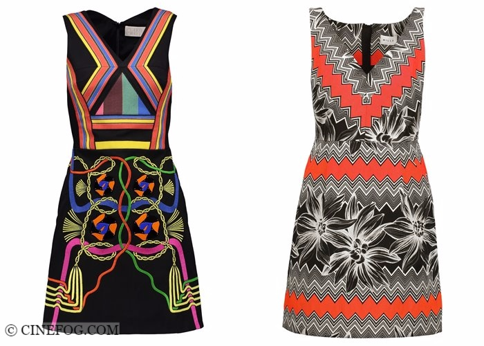 Bodycon pencil dresses 2017-2018 fashion trends: summer printed sleeveless short