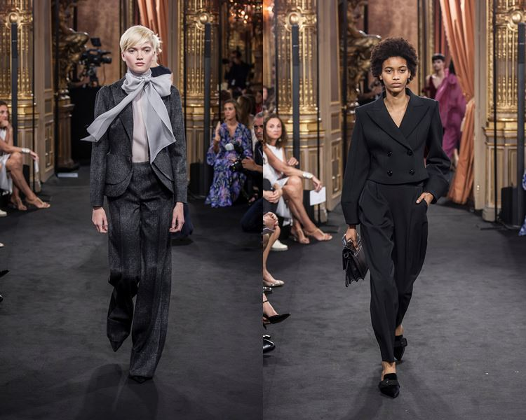 Massimo Dutti Fall/Winter 2017-2018: black pantsuits