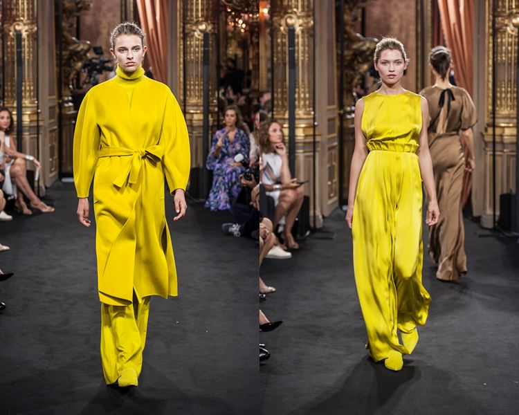Massimo Dutti Fall/Winter 2017-2018: bright yellow outfits