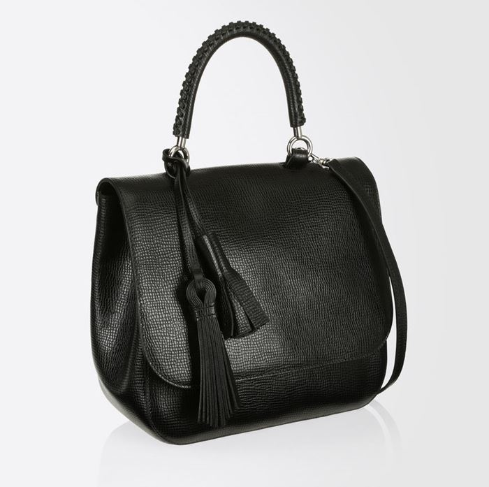 Max Mara Handbag Collection Fall/Winter 2017-2018: black shoulder BoBag