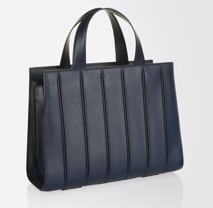 Max Mara Handbag Collection Fall/Winter 2017-2018: navy blue Whitney tote bag
