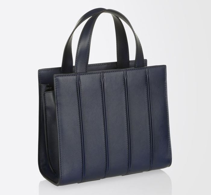 Max Mara Handbag Collection Fall/Winter 2017-2018: small navy blue Whitney bag