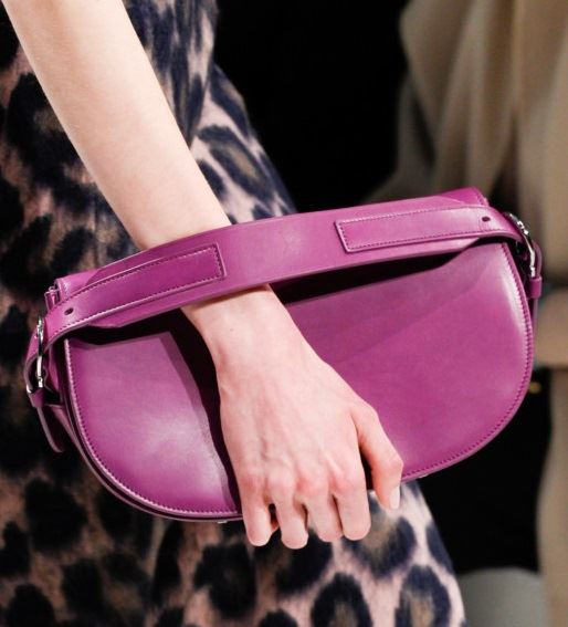 Salvatore Ferragamo Handbags Fall/Winter 2017-2018: pink leather clutch