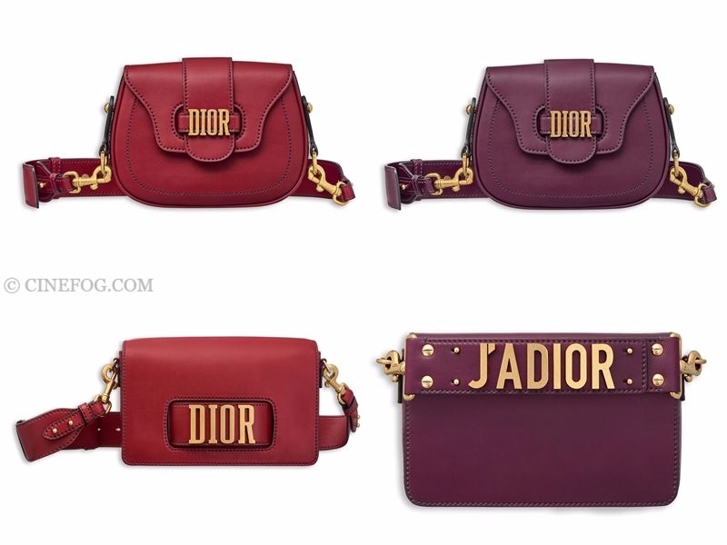 Christian Dior Handbags & Purses Fall/Winter 2017-2018: red and purple purses