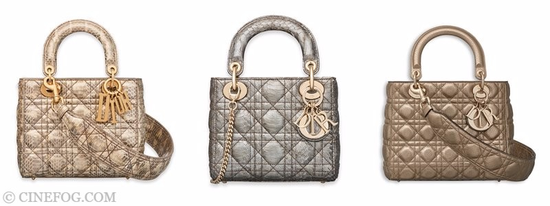 Christian Dior Handbags & Purses Fall/Winter 2017-2018: small gold and silver quilted purses