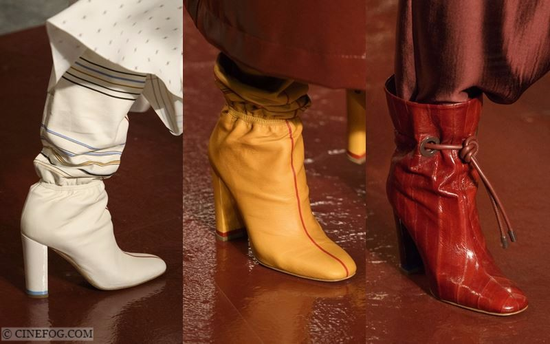 High Boots Fall/Winter 2017-2018 Fashion Trends: baggy and bright leather design