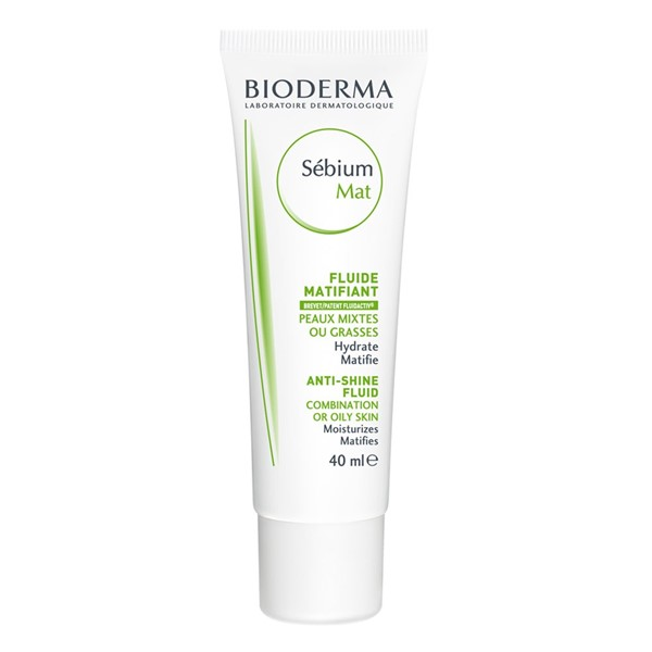 Moisturizing Day Creams For Oily & Combination Skin - Bioderma Sébium MAT anti-shine fluid