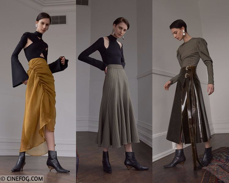 Skirts Fall/Winter 2017-2018 Fashion Trends - long flared pleated and draped skirts