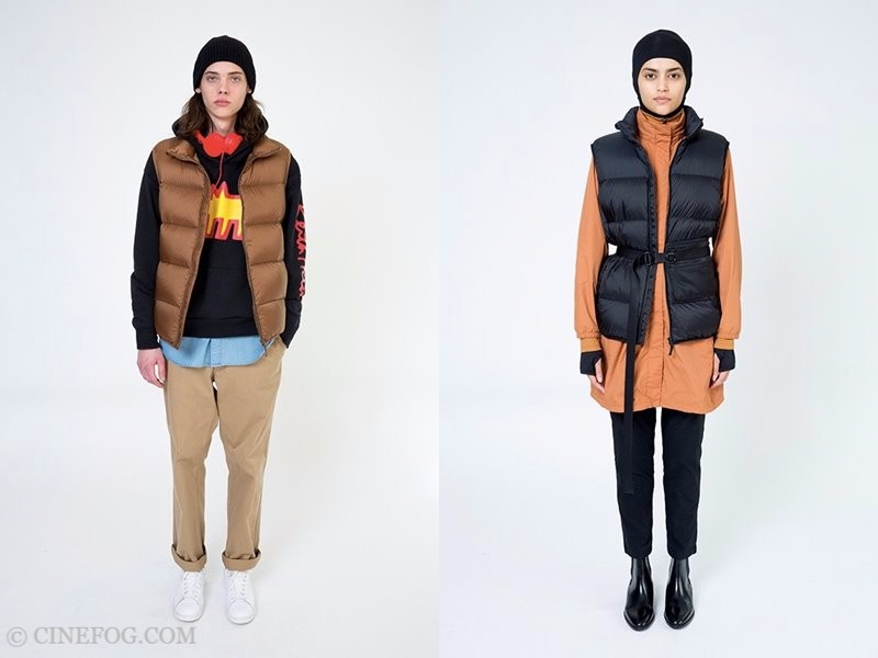 Uniqlo Fall/Winter 2017-2018 Women Collection Lookbook - puffer vests