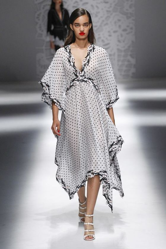 Polka Dot Dresses Spring Summer 2018 Cinefog