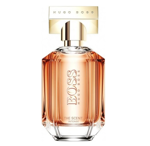 Cozy & Sweet Winter Fragrances - Boss The Scent for Her Intense (Hugo Boss): peach, vanilla, cocoa