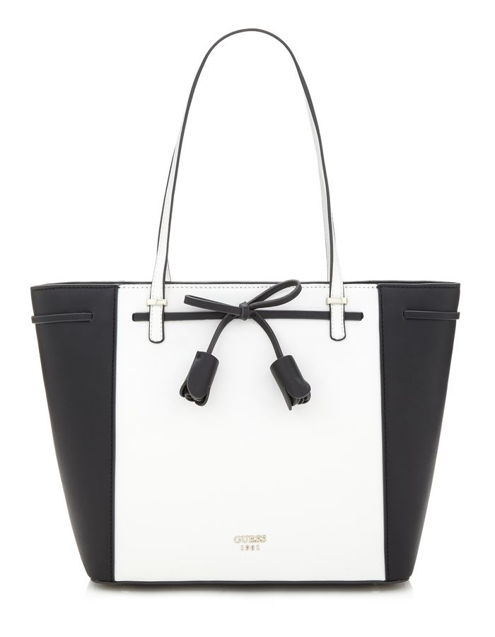 Guess Bag Collection Spring/Summer 2018 - black and white tote handbag