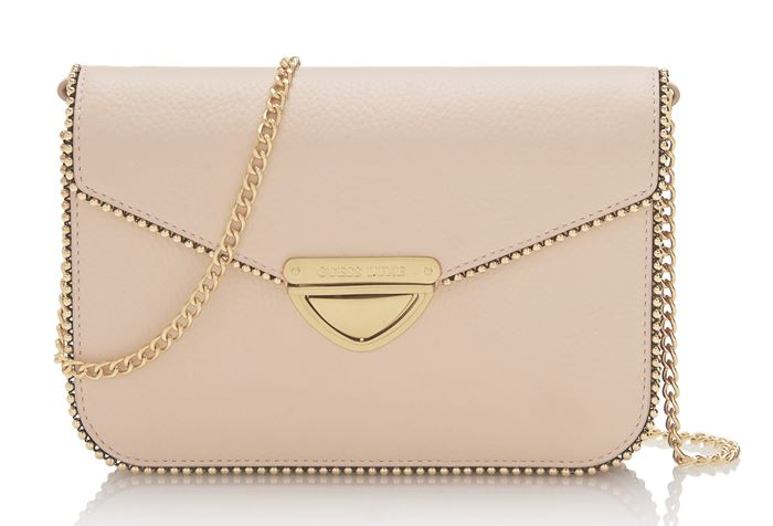 Guess Luxe Bag Collection Spring/Summer 2018 - Creamy beige shoulder envelope bag
