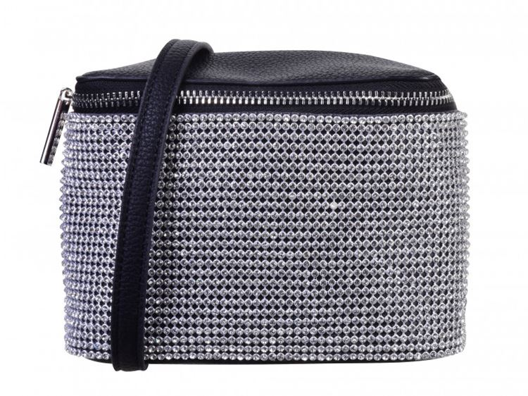 Topshop Bag Collection Spring/Summer 2018 - Black and silver zipper bag