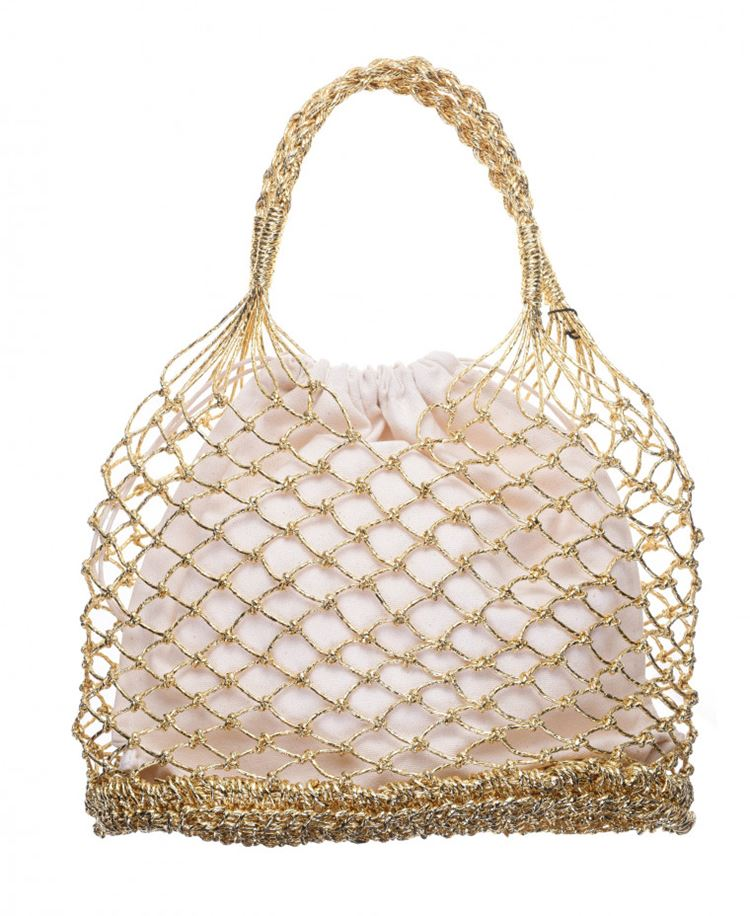 Topshop Bag Collection Spring/Summer 2018 - Golden string bag